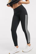 Three Stripe Panel Tights
