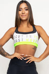 Focus On Your Move Sports Bra