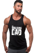 The Walking Dad Tank(Red)