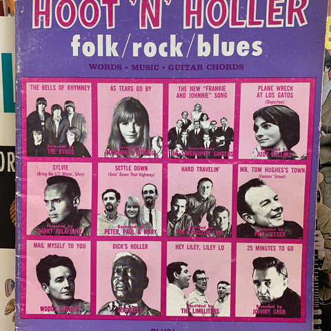 Hoot 'N' Holler folk/rock/blues songbook