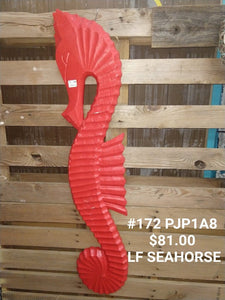 Red LF seahorse