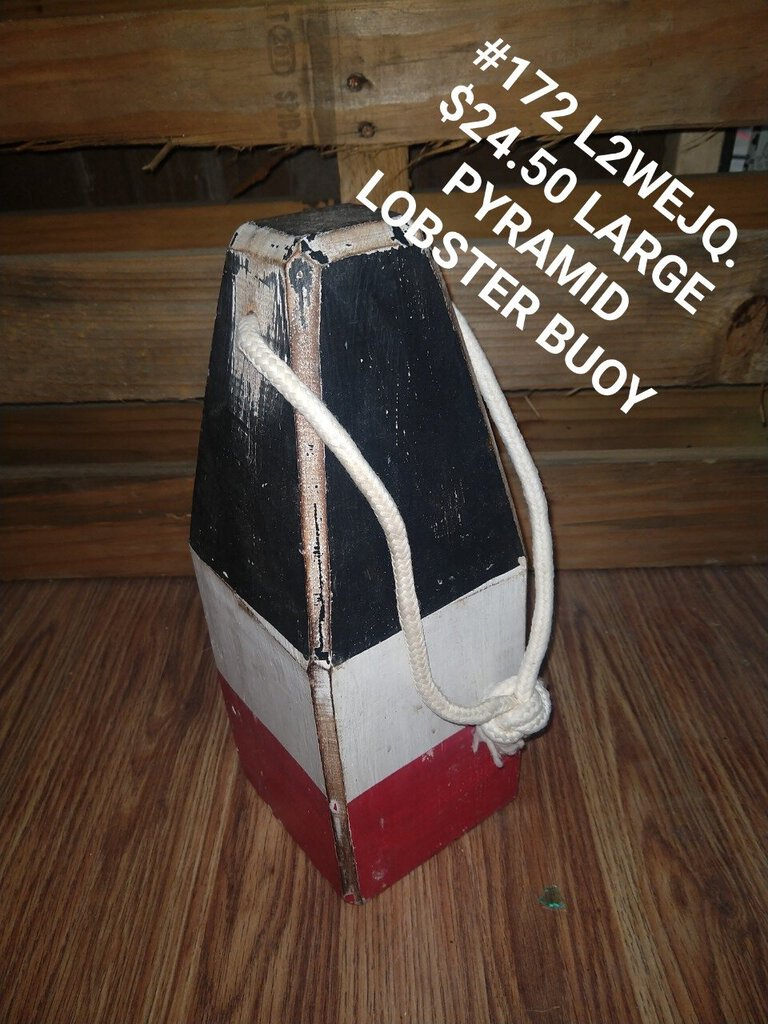 Large pyramid lobster buoy