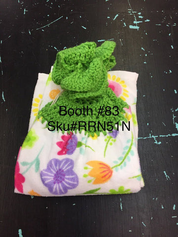 Towel set green