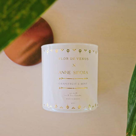 Organic Grapefruit and Mint Candle