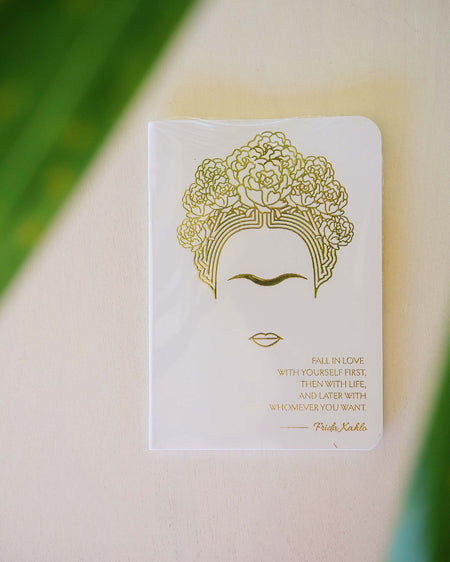 frida kahlo golden notebook
