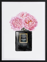 Load image into Gallery viewer, Chanel framed poster art