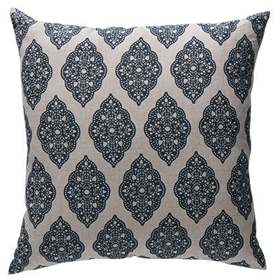 Babbington Tuli Navy Cushion