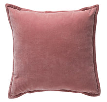 Load image into Gallery viewer, Pink velvet cushion