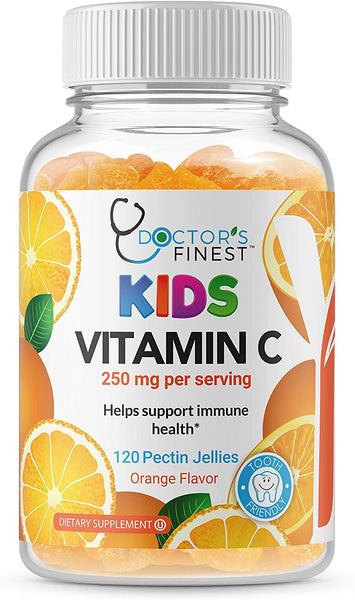 Doctors finest kids Vitamin C Gummy 120 count