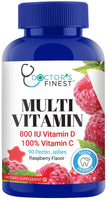 Doctors Finest Adult Multi Gummy Vitamins 90 count