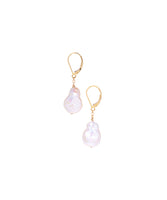 14/20 Gold Filled Baroque Pearl Drop Earrings