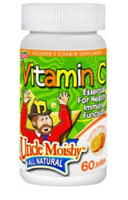 Uncle Moishy Vitamin C jelly 60 Count