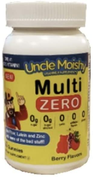 Uncle Moishy Multi Vitamin 60 Count - Sugar Free