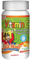 Uncle Moishy Vitamin C jelly 120 count