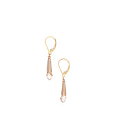 Swarovski Briolette & Gold Filled Earrings