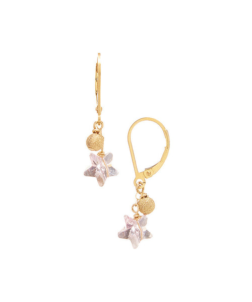Wholesale Swarovski Star Double Drop Earrings