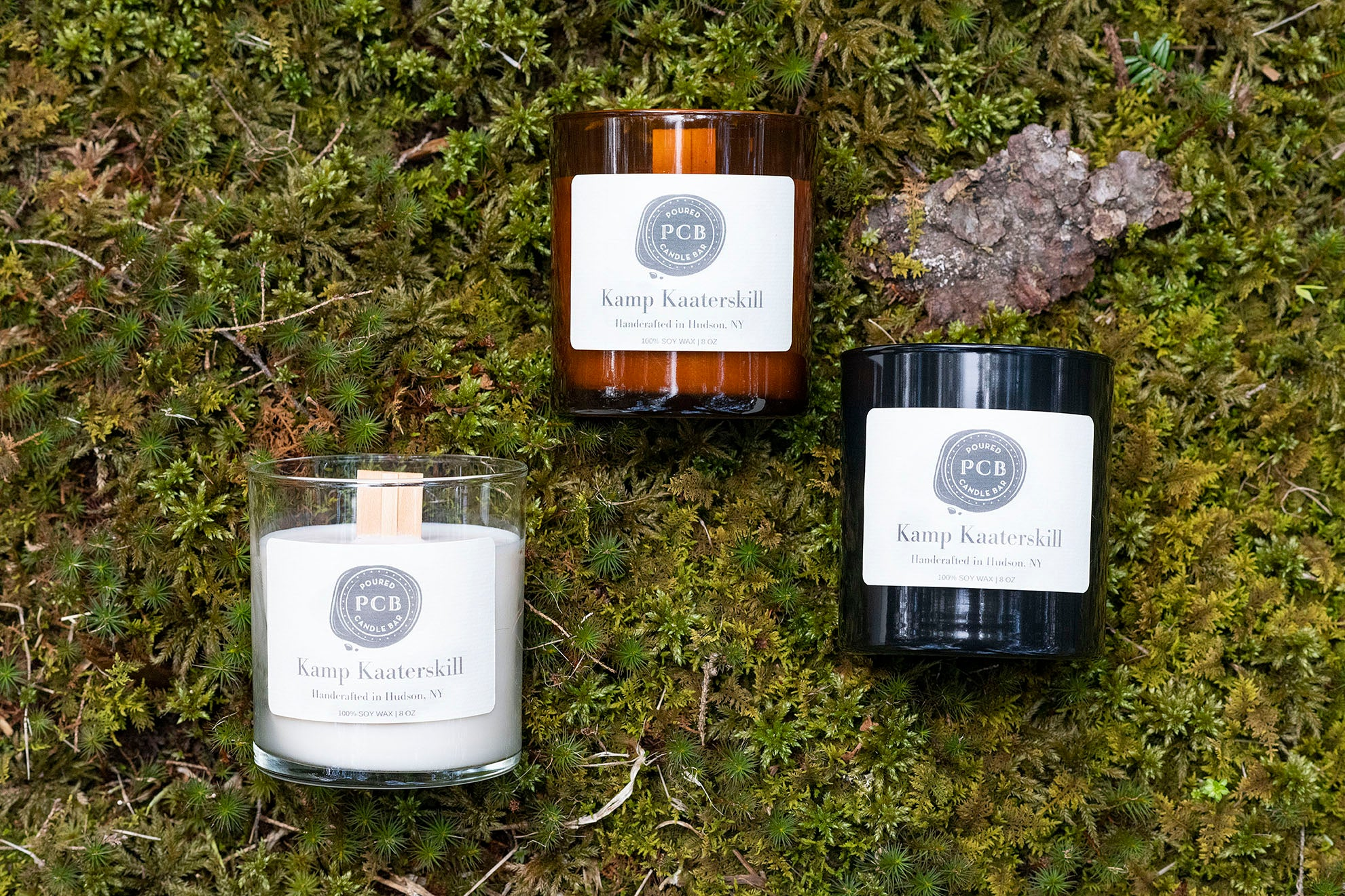 Kamp Kaaterskill - Poured Candle Bar