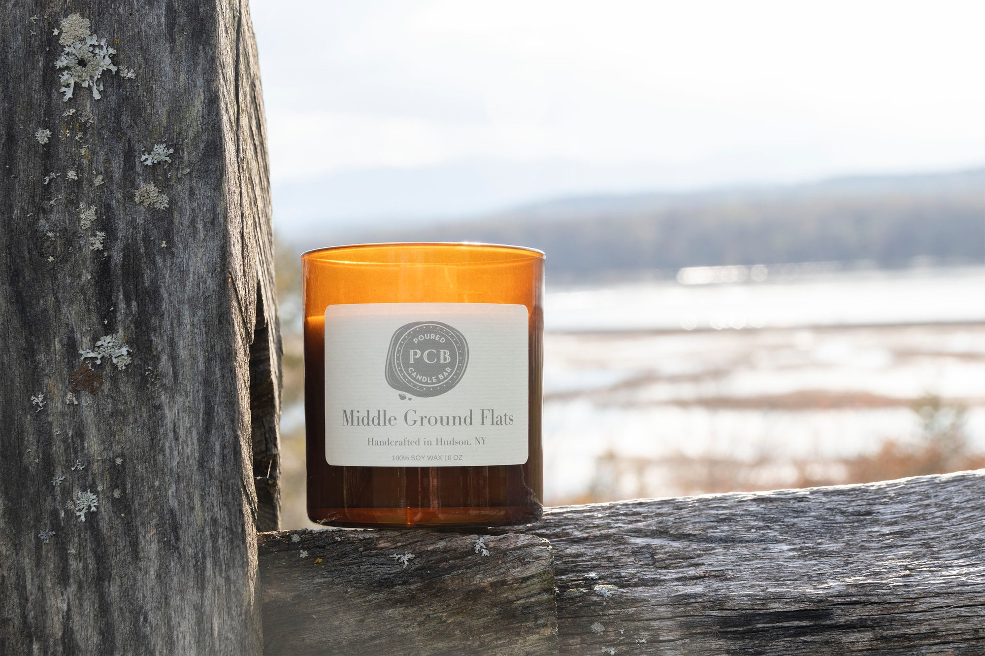 Middle Ground Flats - Poured Candle Bar