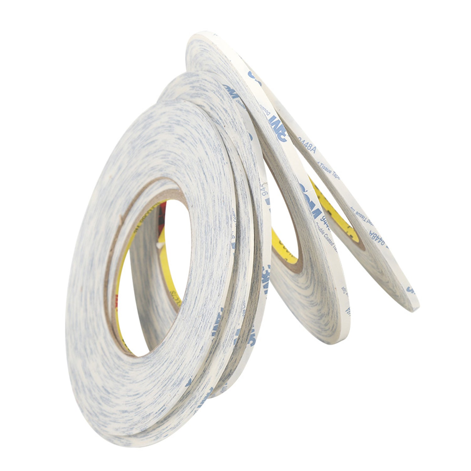 50meter 2/4/5mm Ruban double face American 3M 9448 Ultra-mince White Strong Collky Tape Bricolage Leathercraft Outils Navire standard