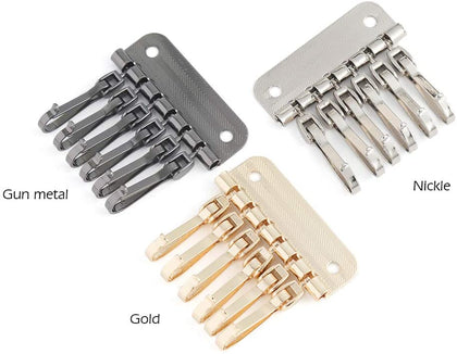 6 Clasp Key Holder(Pack of 2)