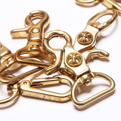 100% Solid Brass Hook buckle