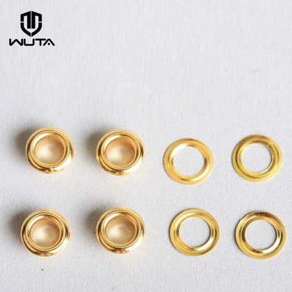 100set Brass Eyelets with Washer Ring