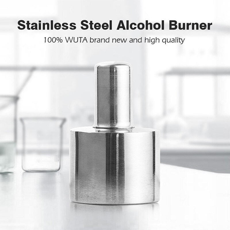200ml Stainless Steel+Brass Alcohol Burner Lamp
