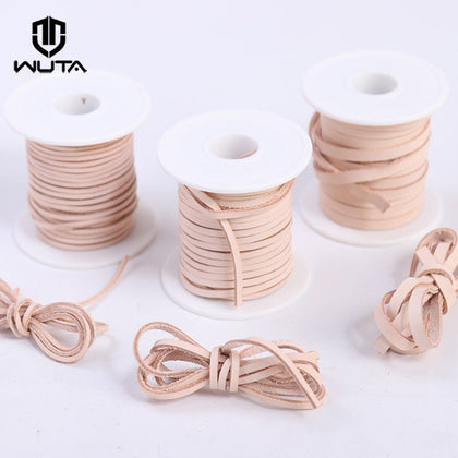Natural Veg-tan Leather Rope 2mm 3mm 5mm