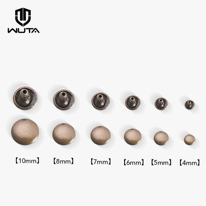 50set/100set Pure Copper Double Cap Rivet