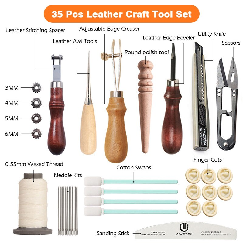 Baick Leather Craft Tools Kit