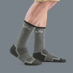 TrailTec+ Cushioned Merino Wool Crew Socks