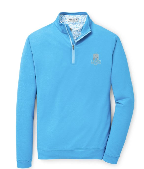 Peter Millar Perth 1/4 Zip Pullover - Club Logo Left Chest