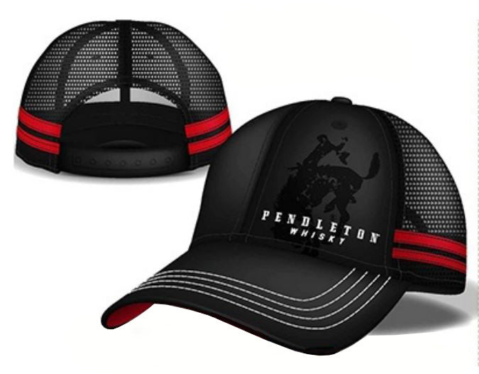 Hat - Black & Red