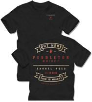 "Men's Pendleton Whisky ""Out Here this is Whisky"" T-Shirt"