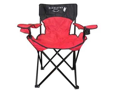 Camp Chair - Red/Black
