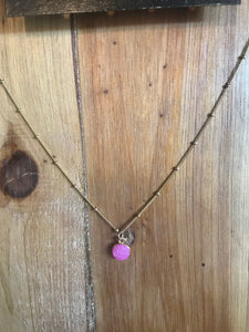 Gold Luster Necklace