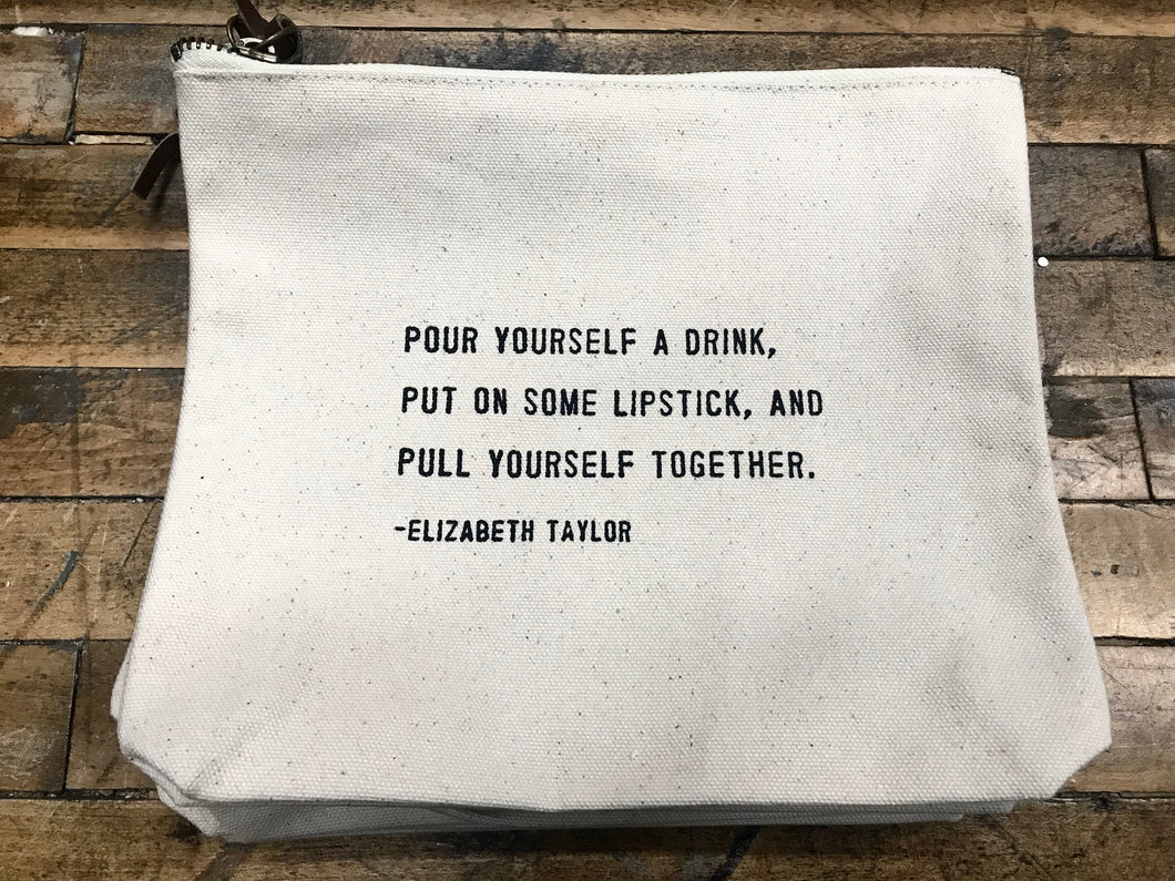Canvas Bag – Pour Yourself a Drink
