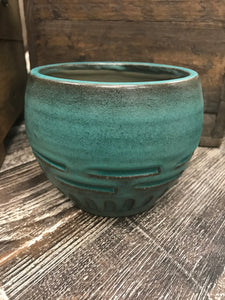 Caba Pot – Teal
