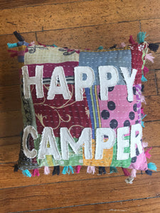 Decorative Pillow – Happy Camper