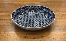 Load image into Gallery viewer, Blue Serving Bowl