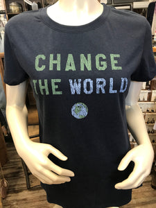Change the World Navy T-Shirt
