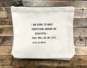 Canvas Bag – I Am Going to Make