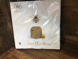 Save the Bees! Lunch Napkin