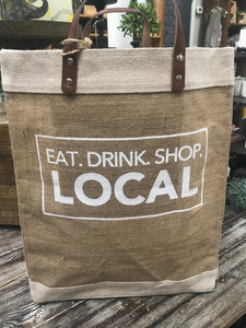 Market Tote – Eat. Drink. Shop. Local