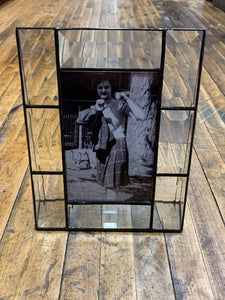 "Beveled Glass Vertical Frame – 4"" x 6"""