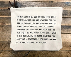 Canvas Bag – She Was Beautiful