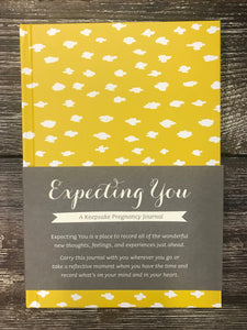 Expecting You Keepsake Pregnancy Journal