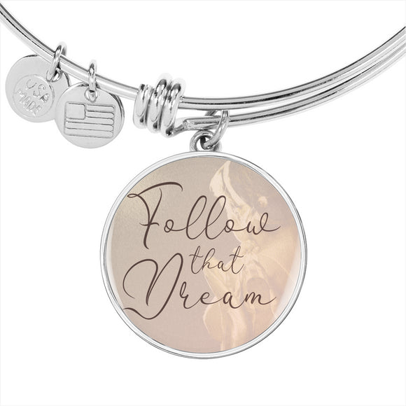 Follow that Dream Dancer Ballet Charm Bracelet - Dance Life Series