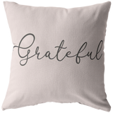 Grateful Pillow / Pillow Case / Stuffed Pillow - Dance Life Series