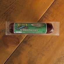 Load image into Gallery viewer, Nueske's Garlic Summer Sausage 10 oz Package - Hardie's Direct, Houston TX